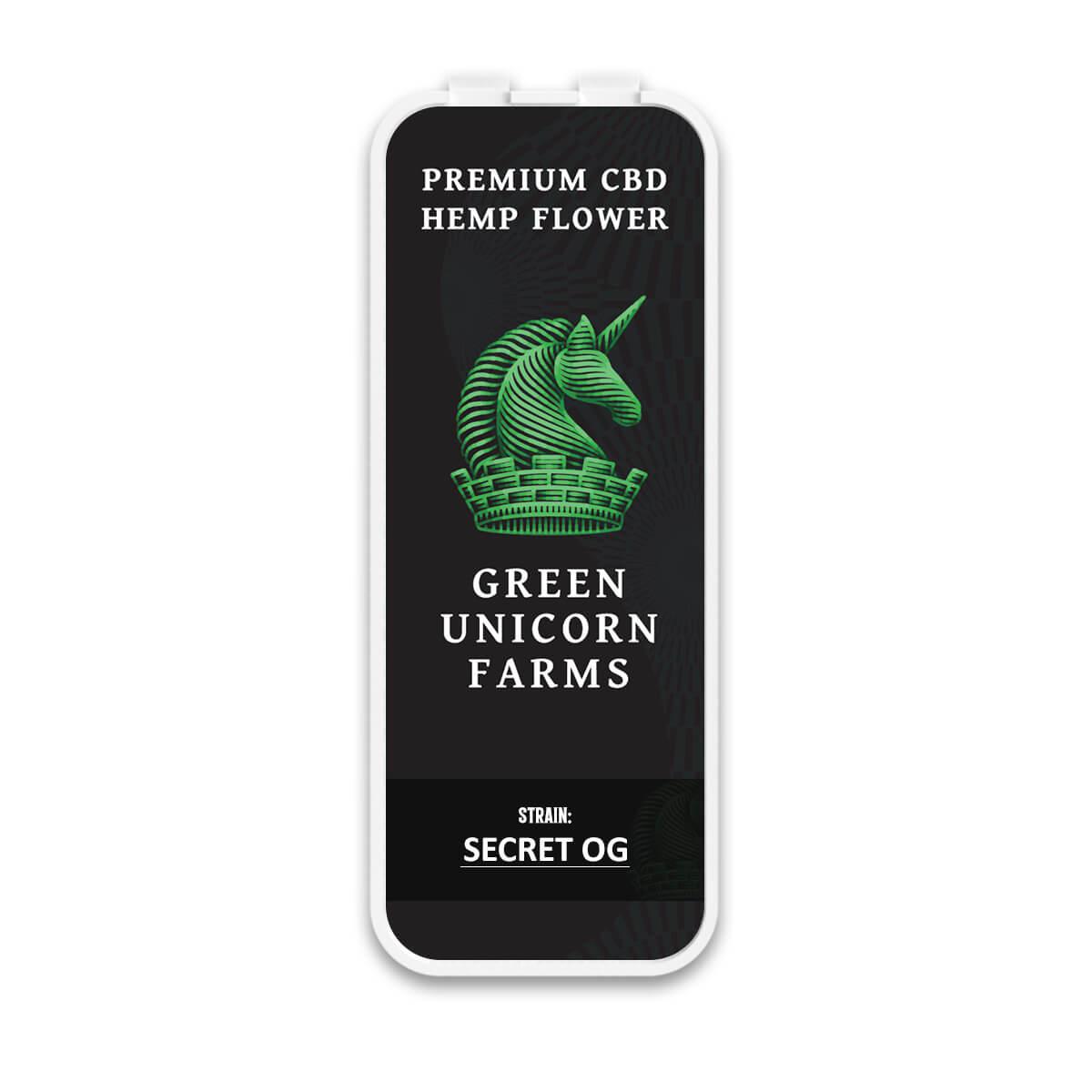 Secret OG hemp flower pre rolls
