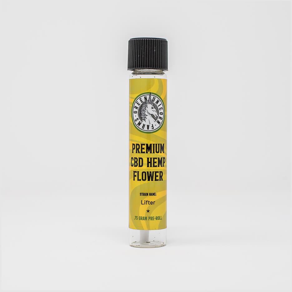 Lifter cbd hemp flower pre rolls