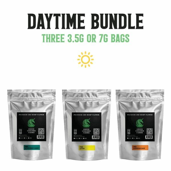 Sativa daytime cbd flower bundle