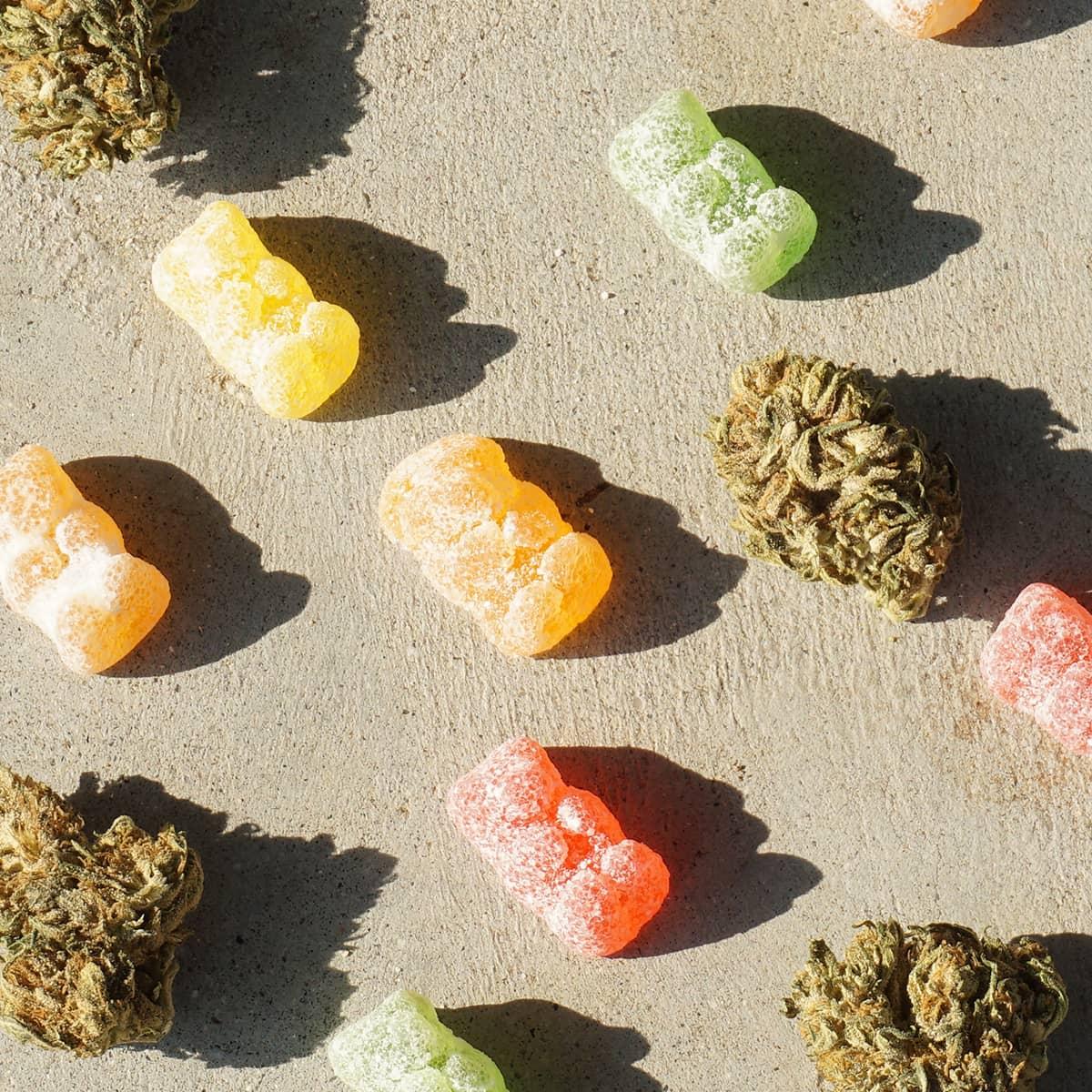 CBD Gummies sour bears