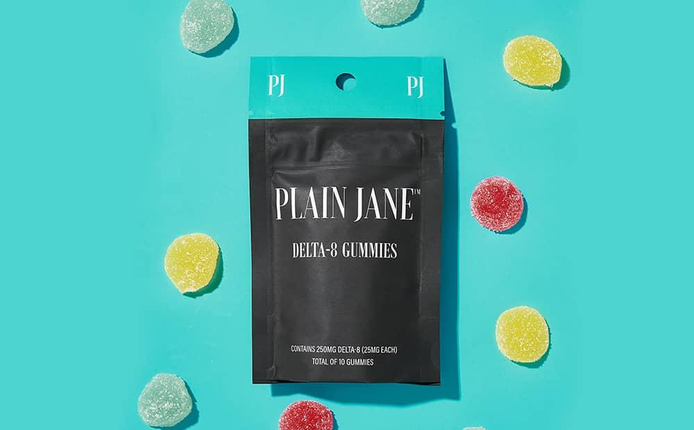 Delta 8 gummies plain jane