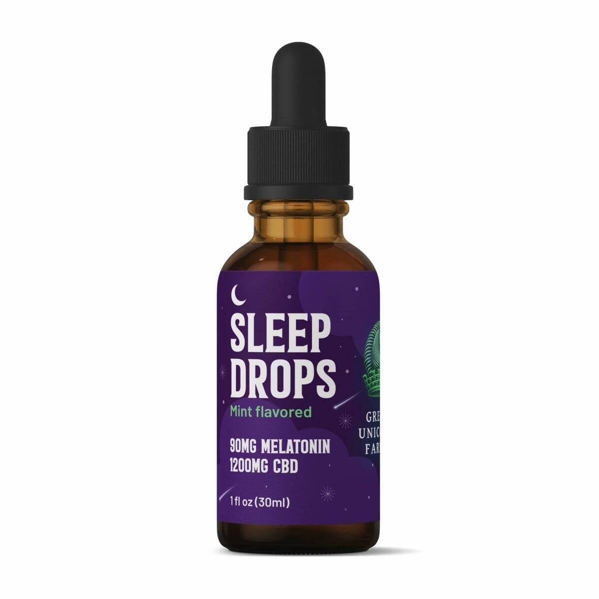 CBD + Melatonin Sleep Tincture