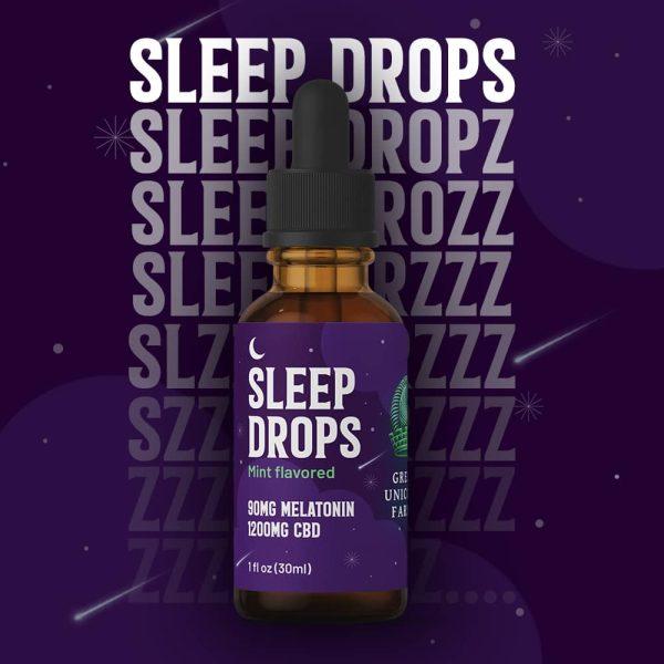 CBD + Melatonin Sleep Drops